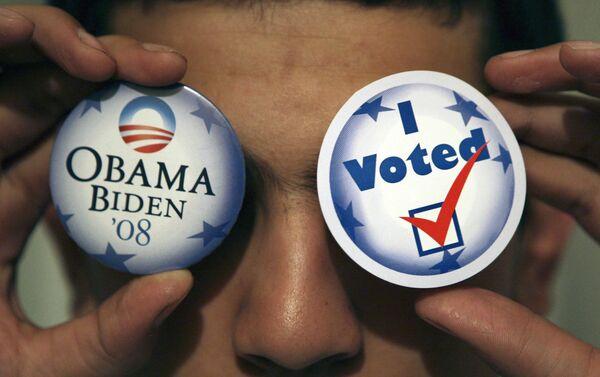 Сувениры с политической символикой на выборах США
