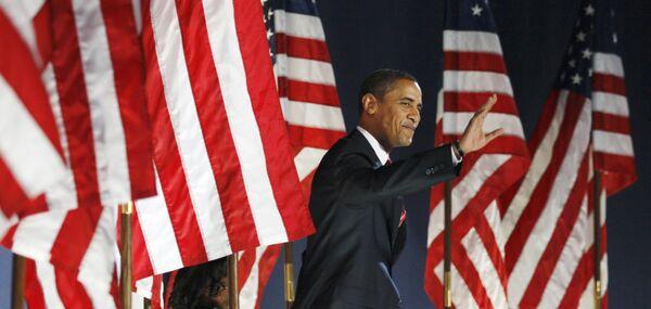 Победитель президентской гонки в США - Барак Обама