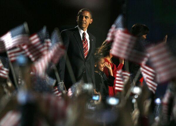 Новый президент США - Барак Обама
