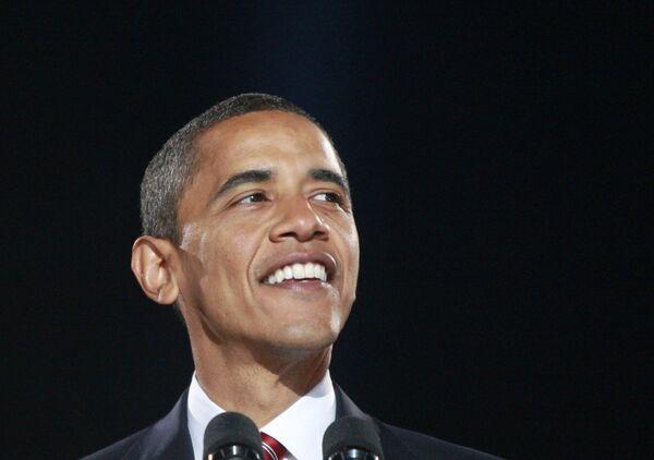 Новый президент США Барак Обама