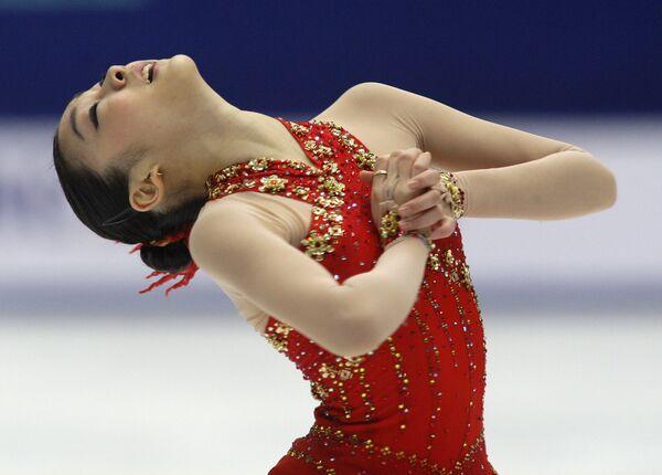 Корейская фигуристка Ким Ю На стала чемпионкой мира