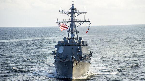 Американский эсминец USS McCampbell