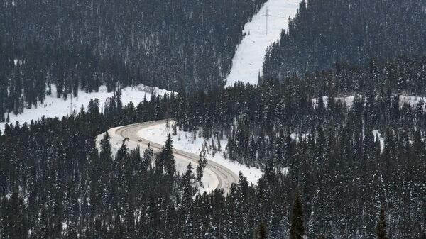 Автомобильная дорога в Красноярском крае