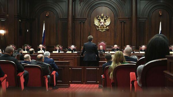 Заседание суда по делу об административной границе между Чечней и Ингушетией