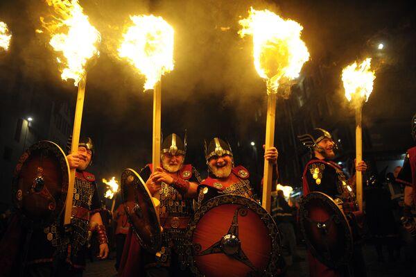 Праздник Хогманай в Шотландии