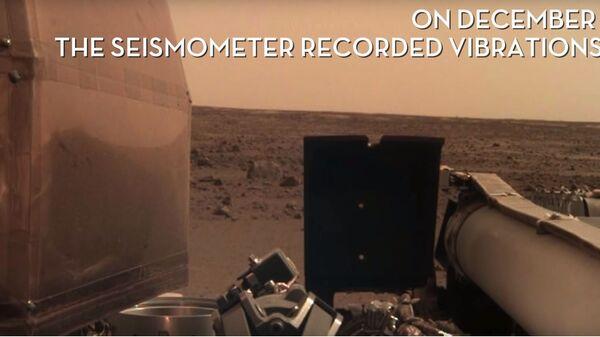 Зонд InSight записал первые звуки с Марса