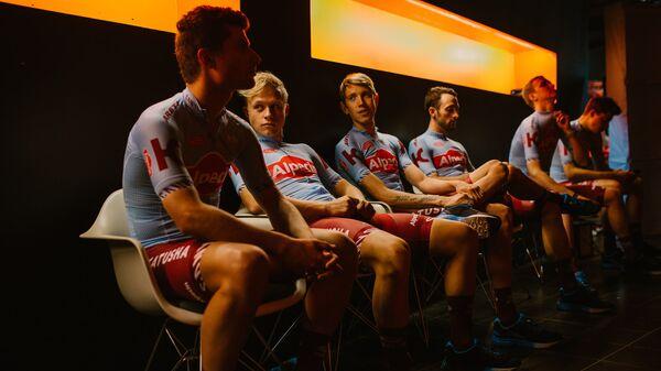 Гонщики велокоманды Katusha-Alpecin