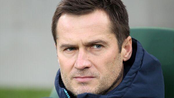 Исполняющий обязанности главного тренера Уфы Дмитрий Кириченко