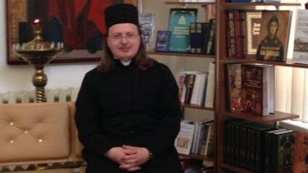 Священник Вячеслав Баскаков. Архивное фото