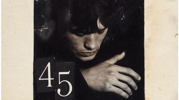 Оригинал-макет дебютного альбома группы Кино 45, предназначавшийся для тиражирования на бобинных магнитофонах