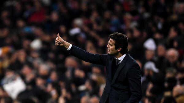 Главный тренер ФК Реал Мадрид Сантьяго Солари