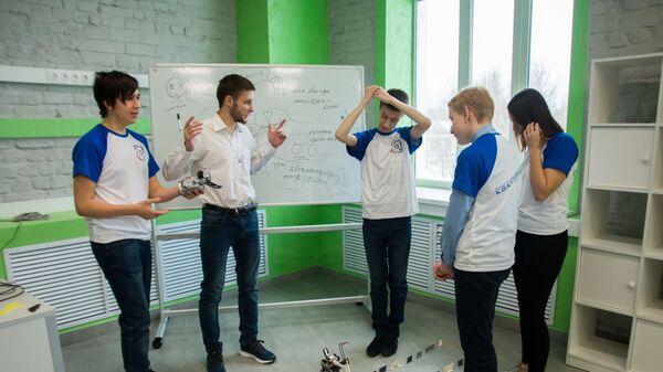 Детский технопарк Кванториум в Ивановской области