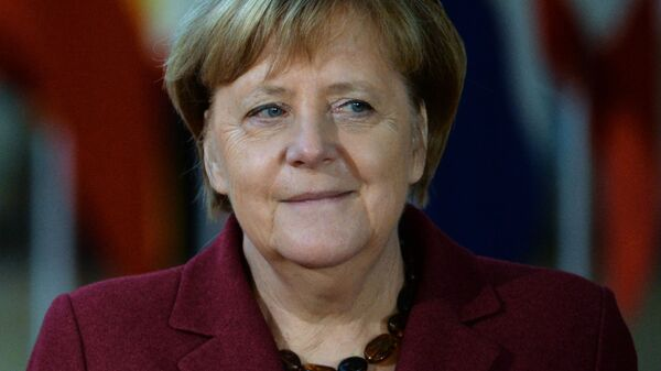 Федеральный канцлер Германии Ангела Меркель на саммите Европейского совета в Брюсселе. 13 декабря 2018