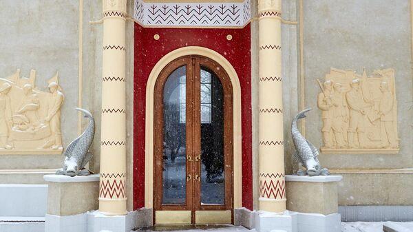 Павильон Биология (Кыргазстан) на ВДНХ, Москва
