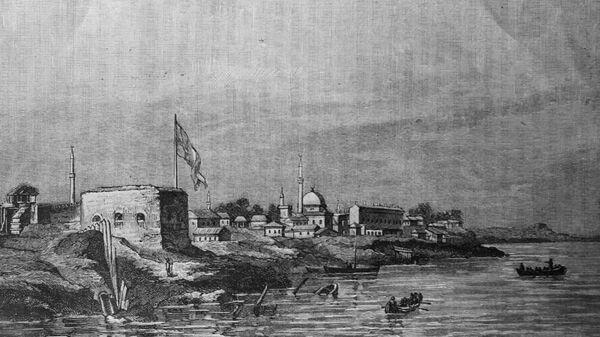 Вид старой крепости в Измаиле. Украинская ССР