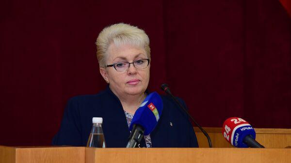 Наталья Маленко на сессии Симферопольского городского совета. 14 декабря 2018