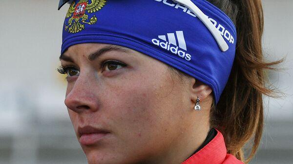 Биатлонистка Морозова сменила фамилию после свадьбы с Поршневым