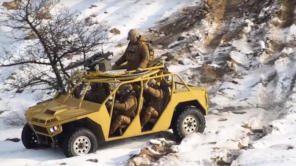 В Сети высмеяли новый автомобиль Нацгвардии Украины