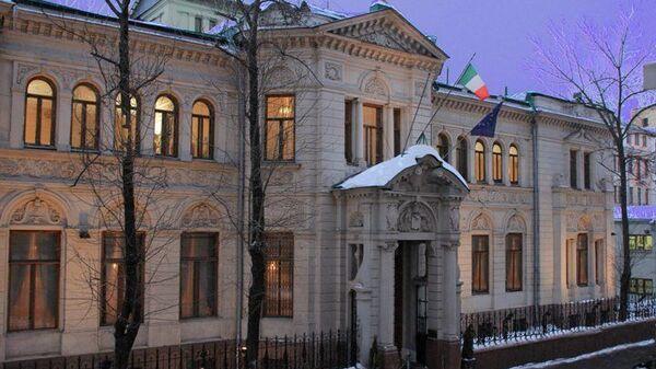 Здание посольства Италии в Москве