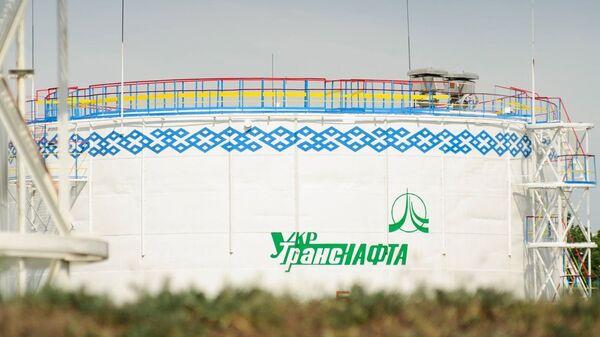 На территории нефтепровода Укртранснефть