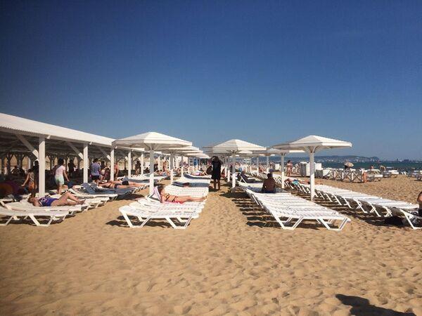Пляж Селена в Анапе