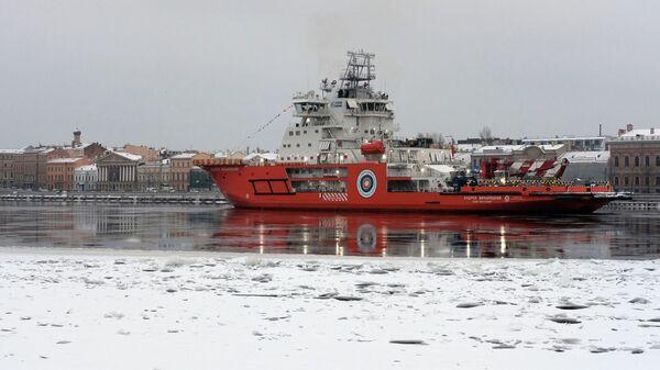 Новый российский ледокол Андрей Вилькицкий