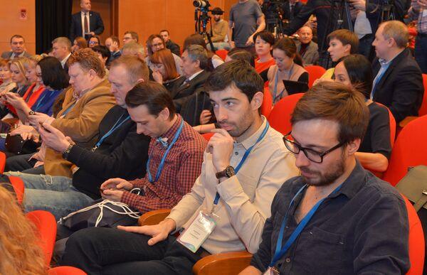 Международный конгресс СМИ «Арктический Медиамир» в Салехарде