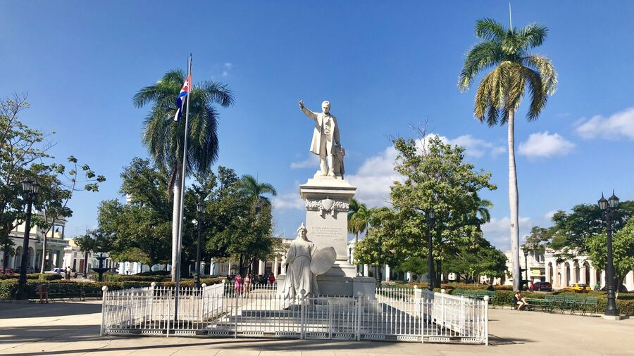Центральная площадь Сьенфуэгоса, Куба