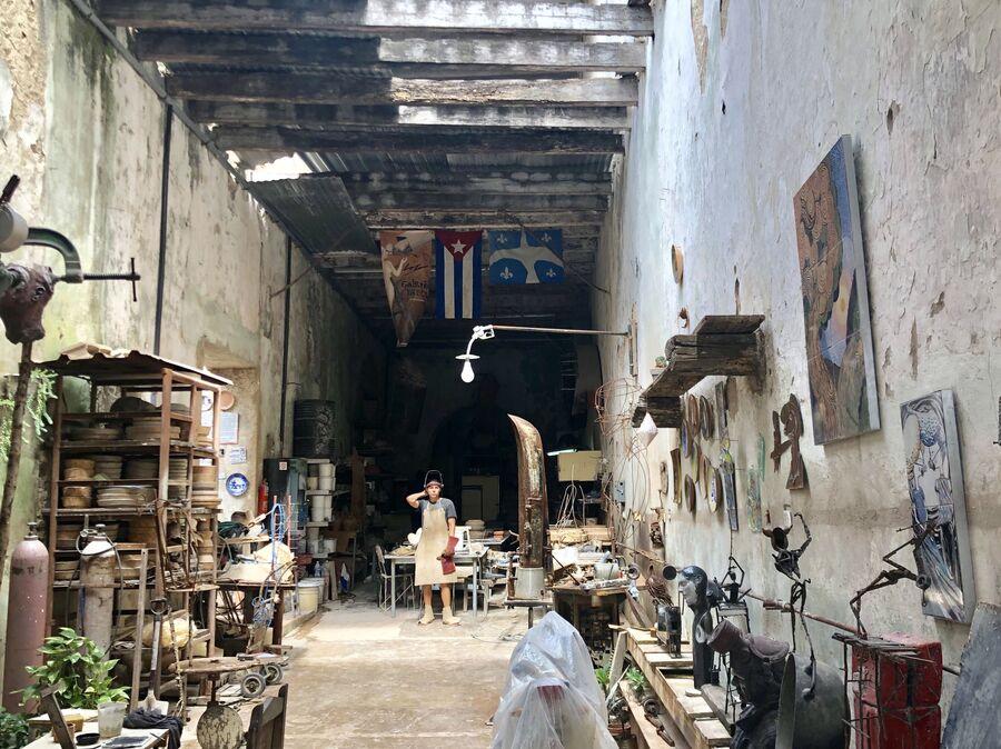 Художественная мастерская, Матансас, Куба