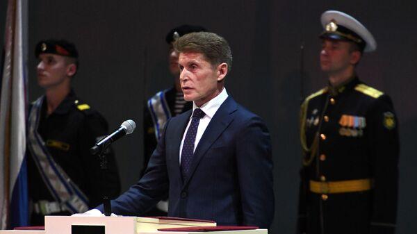 Инаугурация главы Приморья Олега Кожемяко