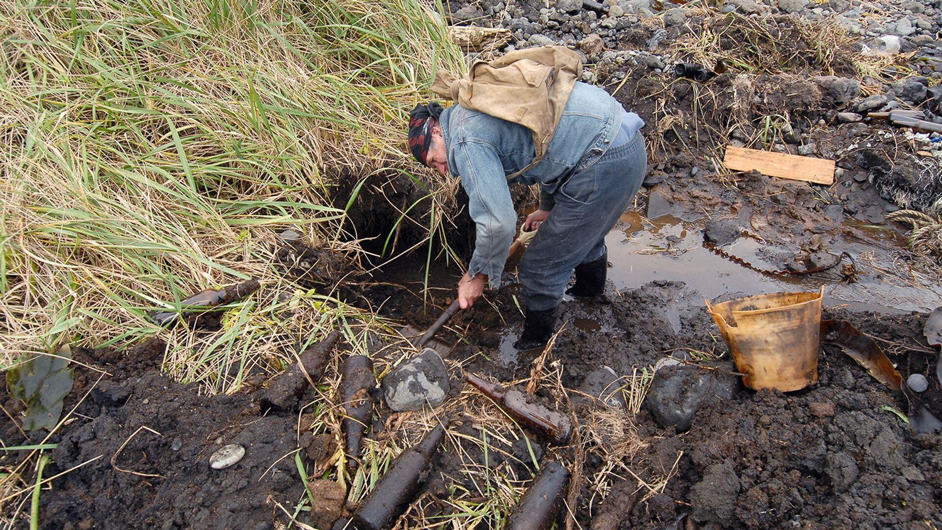 В Приморье на стройке обнаружили останки красноармейцев