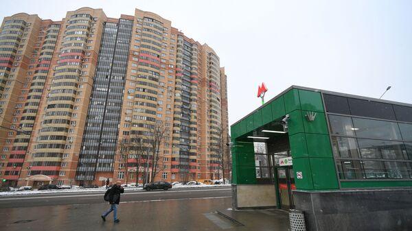 Открытие станции метро Беломорская. Архивное фото