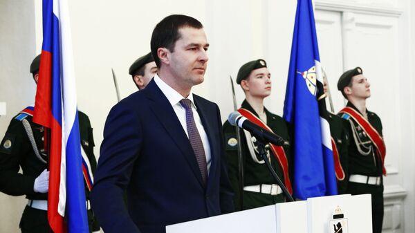 Мэр Ярославля Владимир Волков на церемонии инаугурации