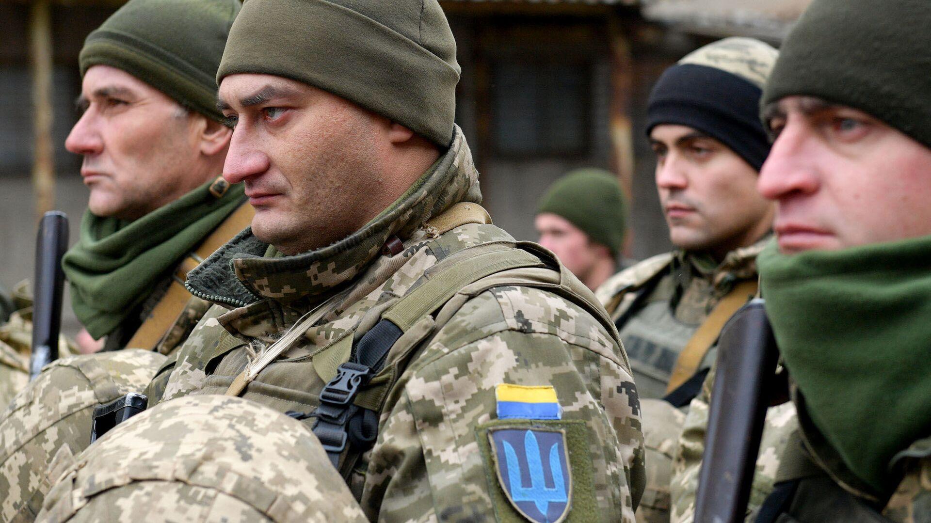 Украинские военнослужащие - РИА Новости, 1920, 20.04.2021