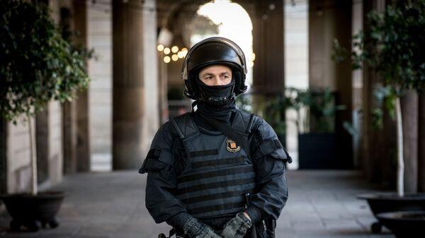 Сотрудник полиции в Испании