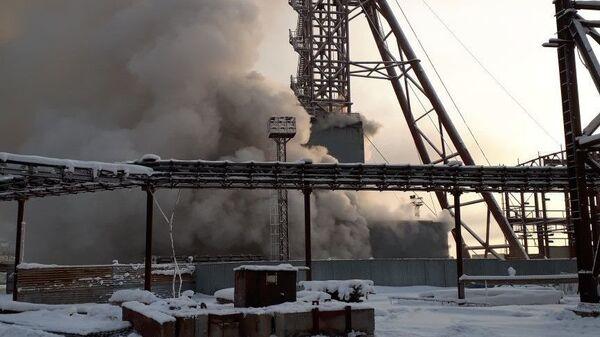 Пожар на шахте Уралкалий в Соликамске
