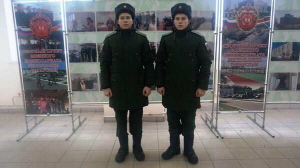 Братья-близнецы из Татарстана Анатолий и Николай Давыдовы