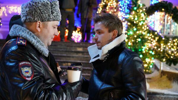 Кадр из сериала Полицейский с Рублевки. Новогодний беспредел
