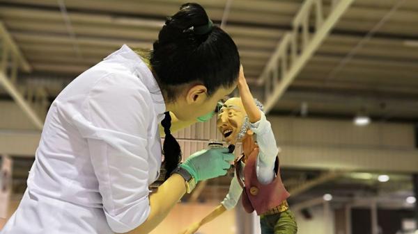 Кондитер из Дагестана Шахсалан Исаева на чемпионате мира по кондитерскому мастерству в Люксембурге
