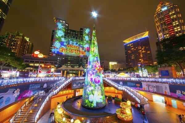 Рождественская елка в Нью-Тайбэй