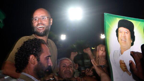 Сын Муаммара Каддафи Саиф аль-Ислам