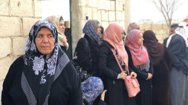 Беженцы из Идлиба. Архивное фото