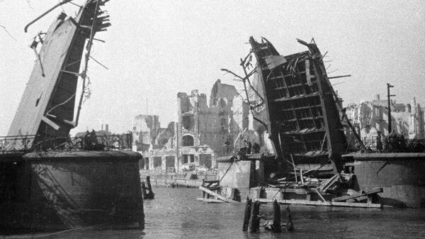 Кенигсберг после взятия советскими войсками