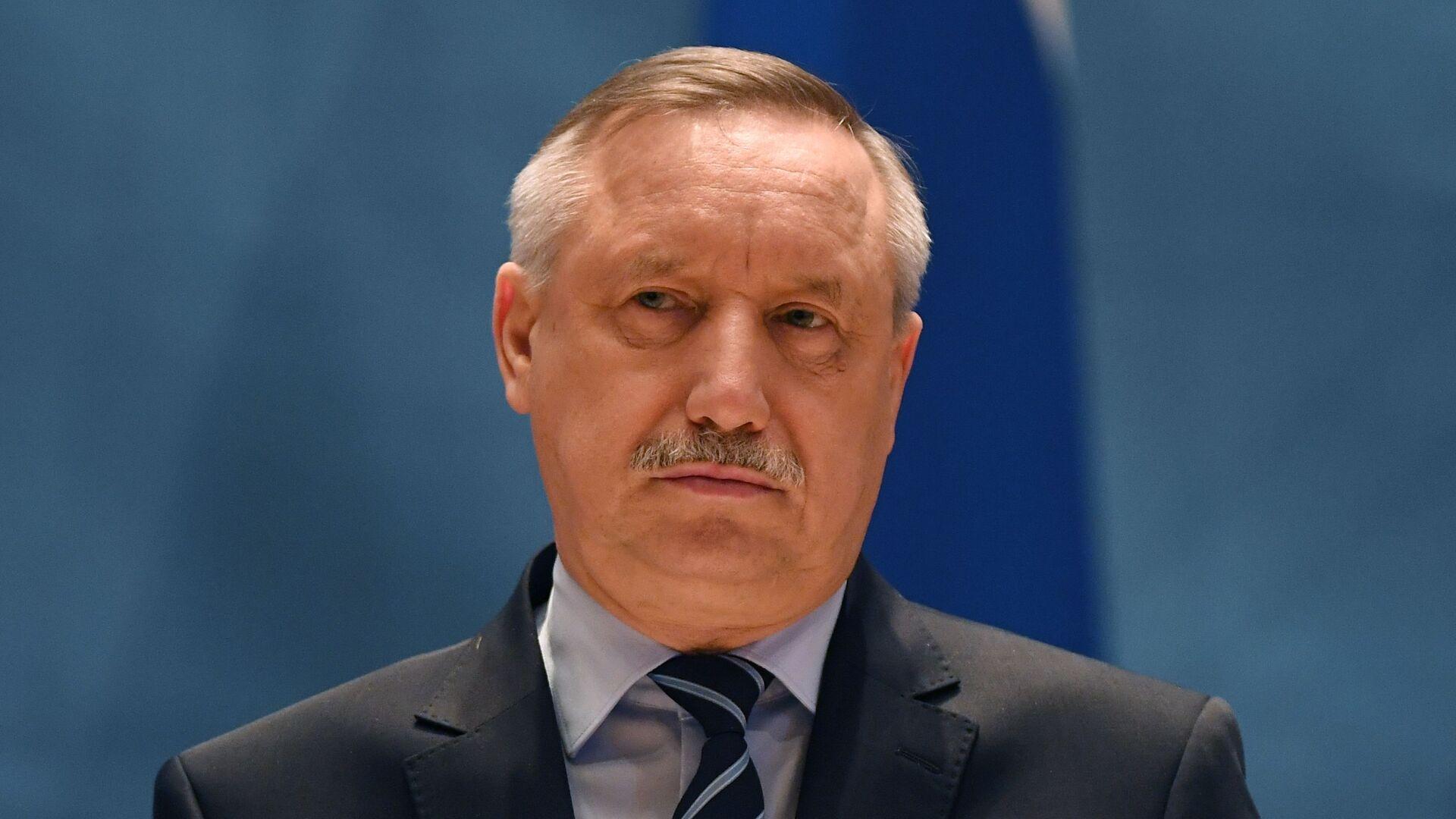 Путин встретится с губернатором Петербурга