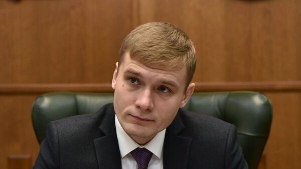 Избранный глава Республики Хакасия Валентин Коновалов