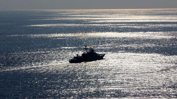 Большой противолодочный корабль Североморск