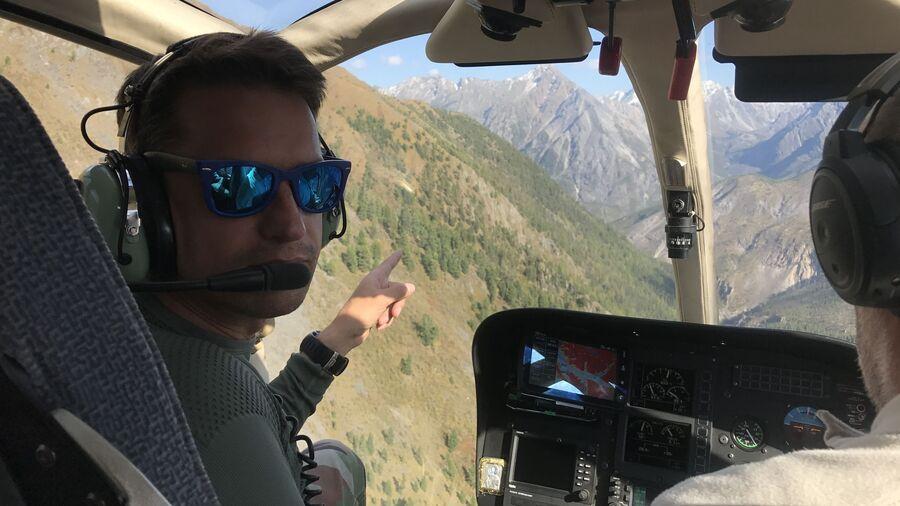 Полет над долиной Шумак