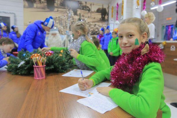 Артековцы пишут новогодние письма