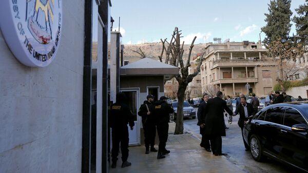 Посольство ОАЭ в Дамаске. 27 декабря 2018