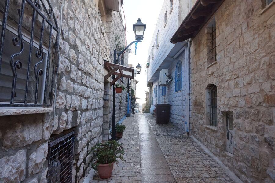 Улица в Цфате